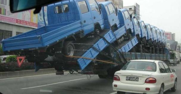 11단 합체 트럭