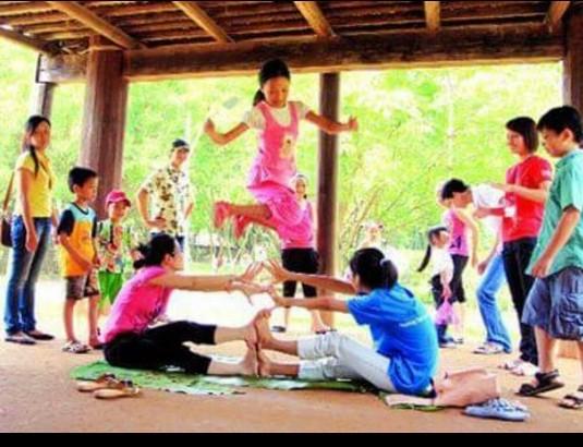 한국과 베트남 어린이의 여름방학