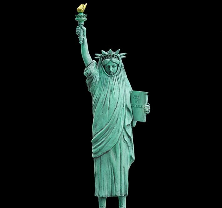 너무 자유로운 자유의여신상