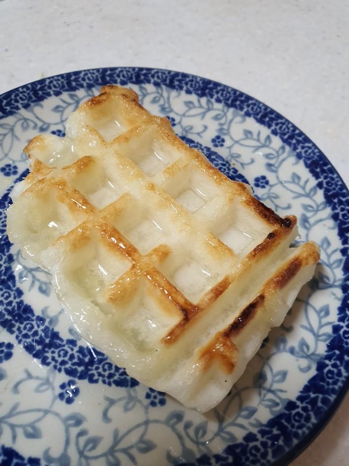 가래떡 와플