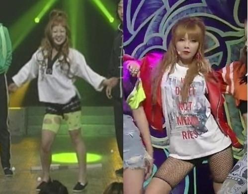 연예인 vs 박나래