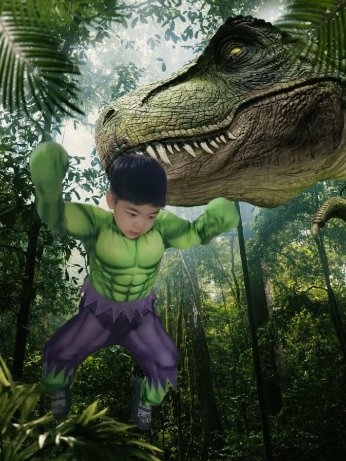공룡을 물리친 히어로