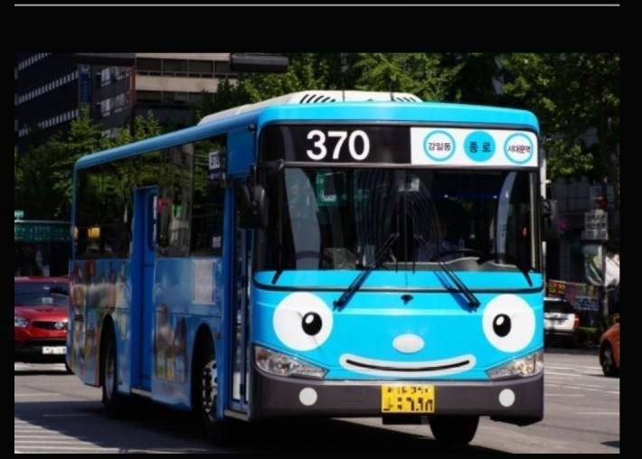 자랑스런 외국의 한국버스들!